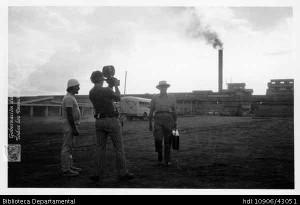 Filmación instalaciones La Manuelita