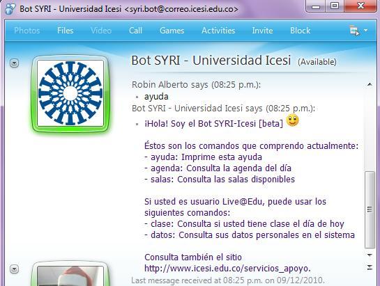 SYRI Bot