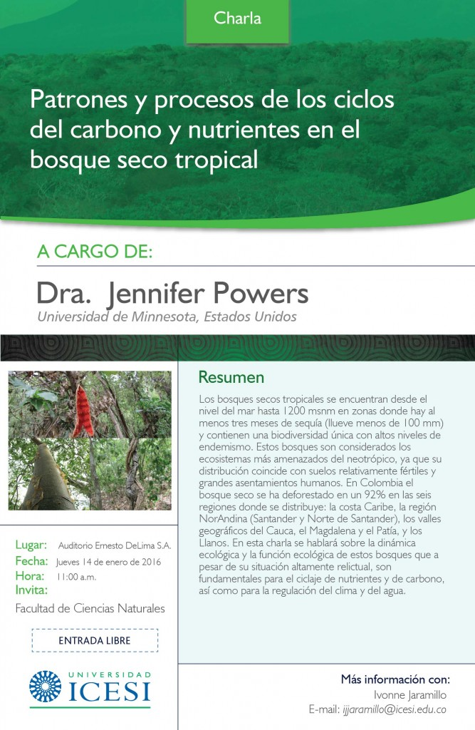 JENNIFER POWERS Bosques secos