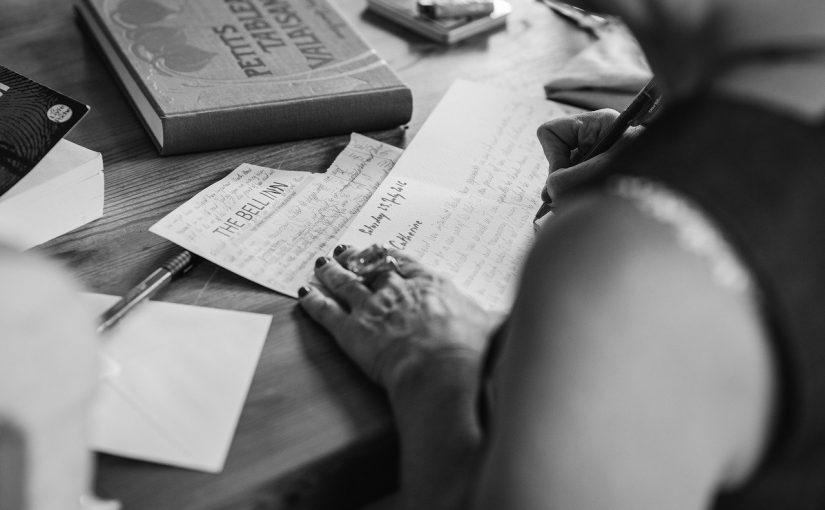 Cartas que deberías escribir en tu vida