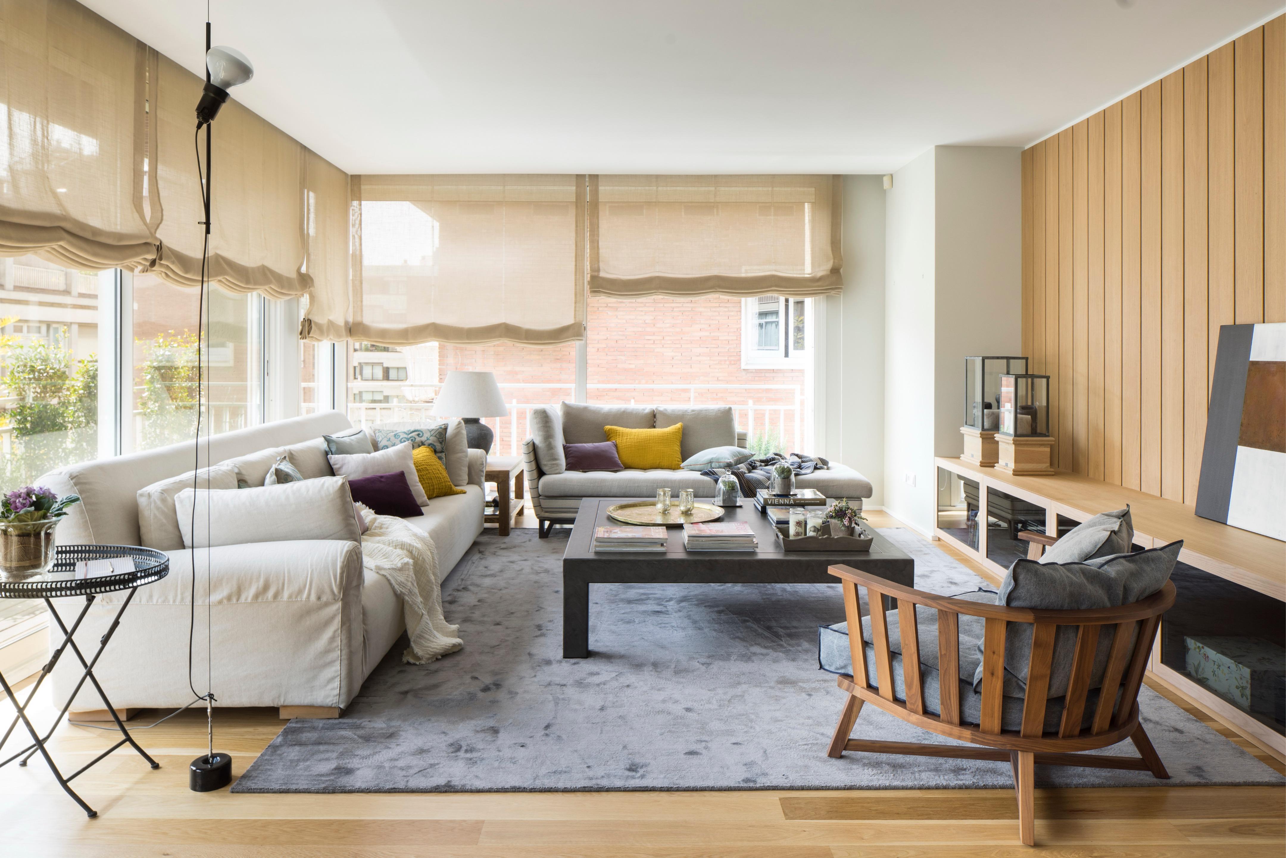 Consejos prácticos para decorar un salón rectangular