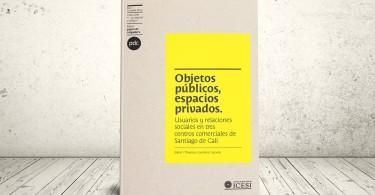 Libro - Objetos públicos, espacios privados: usuarios y relaciones sociales en tres centros comerciales de Santiago de Cali | Editorial Universidad Icesi