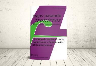 Portada Revista: Transpasando Fronteras - Estudios de Nacionalismos 2013 - Publicaciones ICESI