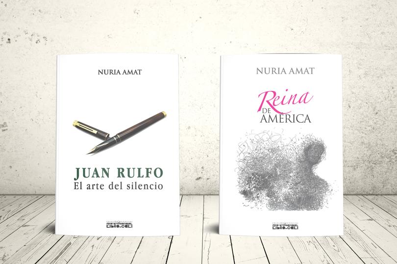 Libro - Dos obras de Nuria Amat (Edición especial: Feria internacional del libro de Cali, 2017)   Editorial Universidad Icesi