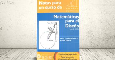 Libro - Notas para un curso de Matemática para el Diseño | Editorial Universidad Icesi