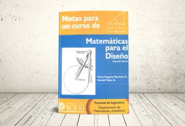 Libro - Notas para un curso de Matemática para el Diseño   Editorial Universidad Icesi