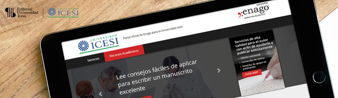 Convenio Universidad Icesi y Enago | Editorial Universidad Icesi