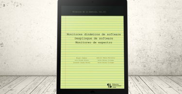 Libro - Monitores dinámicos de software - Despliegue de software - Monitoreo de espectro | Editorial Universidad Icesi