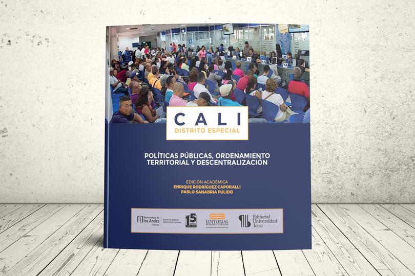 Libro - Cali Distrito Especial. Políticas públicas, ordenamiento territorial y descentralización   Universidad de los Andes, Universidad San Buenaventura Cali y Universidad Icesi