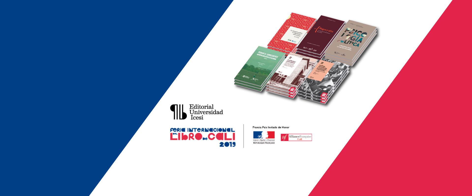 Icesi en la Feria Internacional del Libro de Cali 2019