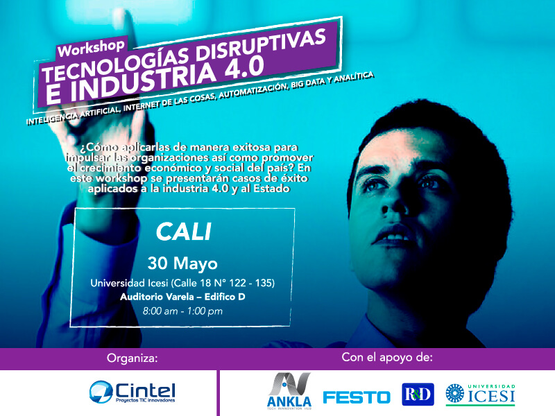 Workshop tecnologías disruptivas e industria 4.0