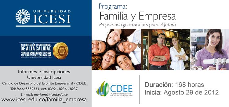 Programa Familia y Empresa