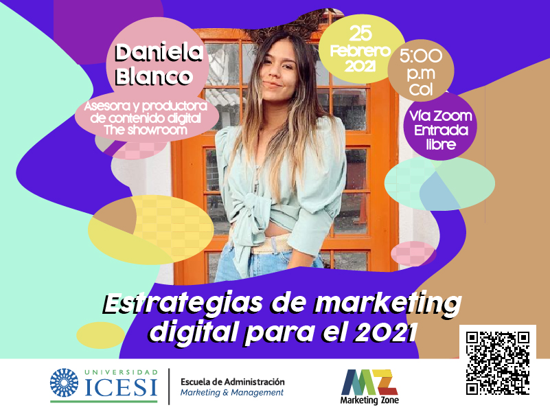 "Foro ""Estrategias de marketing digital para el 2021"""